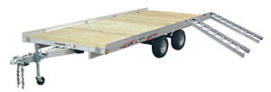 "New Aluminum Triton trailer 79"" x 200"""