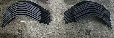 8 Each Lh Rh Tines For Land Pride Rta2534 820-057c 820-058c 16 Total