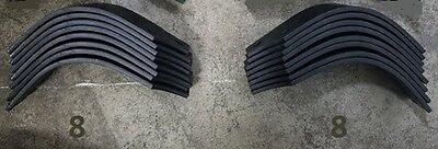 8 Each LH & RH Tines for Land Pride RTA2534 # 820-057C / 820-058C 16 TOTAL
