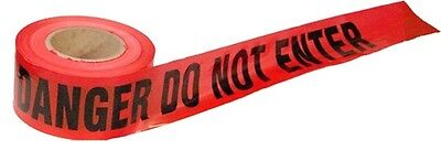 1 Roll- Red Danger Do Not Enter Tape 2.0 MIL 3″x1000 Ft. *Free US Shipping* Business & Industrial