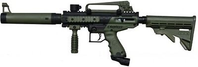 Black Semi Automatic Gun - Tippmann Cronus Tactical Paintball Gun Marker Semi Automatic Olive Black FREE SH