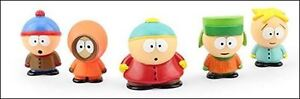 5 SOUTH PARK FIGURES - LIMITED EDITION SET, SERIES 1 - NEW IN BO