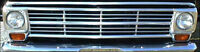 1967-1969 Ford Truck Grille