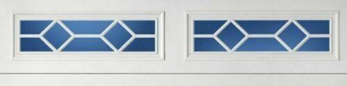 4 Amarr Waterford Decratrim Window Inserts Long Panel White Garage Decorative