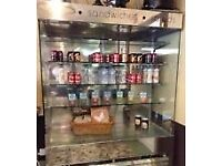 Display Fridge. 1.5 metre wide 2m tall. Ideal for shop, cafe, takeaway etc.