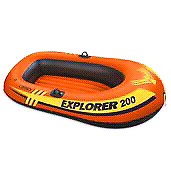 1-2 person inflatable boat