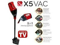 Rechargeable cordless vacuum cleaner