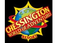 2x Chessington World of Adventure tickets
