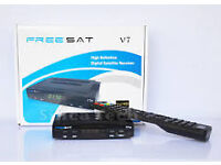 fresat v7 openbox skybox plus wifi dongle with 12 mnth gft