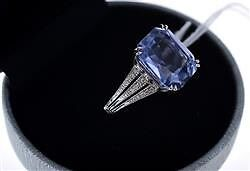 SAPPHIRE AND DIAMOND RING Morisset Lake Macquarie Area Preview