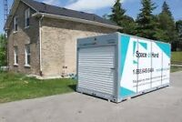 Moving?? Portable storage containers and self storage space