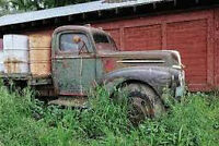 WANTED Old rusty truck