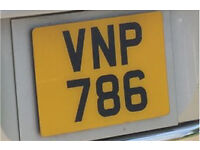 VNP786 Number plate Read Add