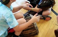 DRUM INTERACTIVE CIRCLE OF FUN = PARTIES - SUMMER RHYTHM CLINICS