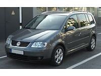 Cash for Volkswagen touran working or non working