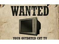 WANTED!!! Working Big backed and old TVs