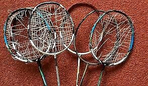 BADMINTON STRINGING AND STRINGS