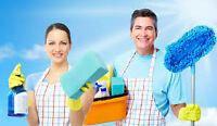 Looking for full and part-time cleaning professionals