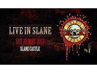 Guns N Roses Not in this lifetime Concert Ticket for !!!!!!Slane Castle !!!!!!!!
