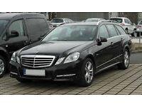 Wanted Mercedes Benz E class 212 series estate E350 or E250