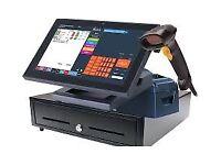 Touchscreen EPOS Cash Register Till System for Retail Business