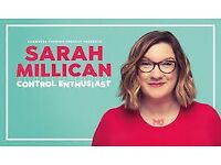 Sarah Millican at De Montfort Hall Leicester 5th Sept 2 tickets