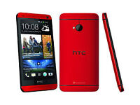 The HTC One Max huge, Full 6 inch HD display and metal body Red Colour 32GB Unlocked to All Networks