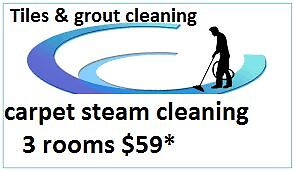 CARPET, UPHOLSTERY, TILE AND GROUT  STEAM CLEANING Point Cook Wyndham Area Preview