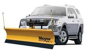 "Meyers 7' 6"" Fully Hydraulic Snowplow Brand New In a Crate Free Delivery Delivery Included"