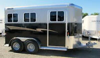 Charmac Outlaw 2 Horse Trailer! 7 Year Warranty!