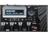 Roland GR-55s Black Guitar Synth Pedal Board Without Pickup GR-55
