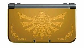 New 3DS XL Hyrule Edition with all games