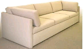 LOOKING for a long....comfty couch