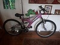 Ladies Trax push bike - like new - very good condition