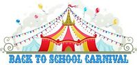 BACK TO SCHOOL CARNIVAL.