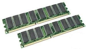 2GB KIT 2X1GB PC3200 DDR 400MHZ LOW DENSITY 64X8 184 PIN RAM LIFETIME WARRANTY