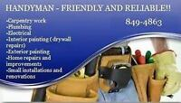 Handyman Friendly And Reliable