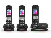 A BRAND NEW SEALED BT 8500 TRIO PHONE SET