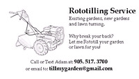 Rototilling Services