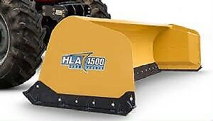 HLA bucket mount snow pusher