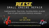 LAWN TRACTOR/LAWN MOWER/ ROTOTILLER SERVICE & REPAIRS