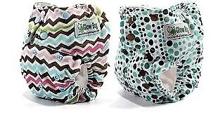 Brand New Glow Bug Cloth Diapers