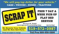 Wanted Cars, Trucks and Vans, Scrap or Not.