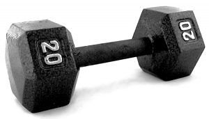 Wanted: Hex Dumbbells 5's, 10's, 40's, 50's & 60's