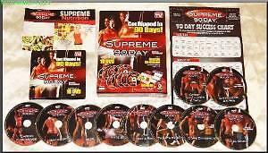 Supreme 90 Days Workout DVDs