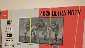 "RCA 65""  4K/2K  ULTRA HIGH DEF  LED TV( Brand new)"