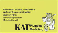 KAT Plumbing and Gasfitting is looking for hard working labourer