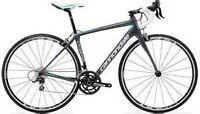 Carbon Road Bike Women's Cannondale Synapse 6 105 44cm NEW 2014