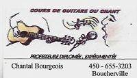 Cours de chant et /ou guitare Boucherville
