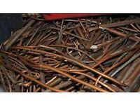 Scrap copper,lead,brass cash paid ££